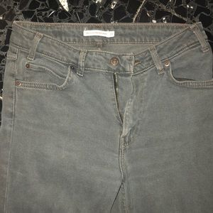 Dark grey Levis Skinny Vintage High Rise